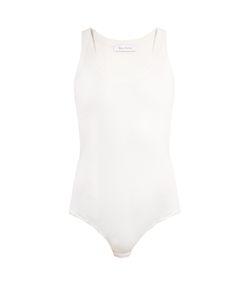 RYAN ROCHE | Sleeveless Ribbed-Jersey Silk Body