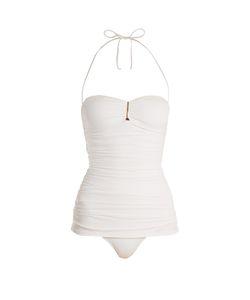 Melissa Odabash   Mauritius Strapless Ruched-Panel Swimsuit