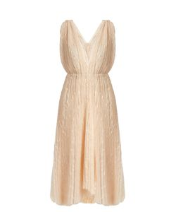 Maria Lucia Hohan | Eudora V-Neck Star-Embroidered Tulle Dress