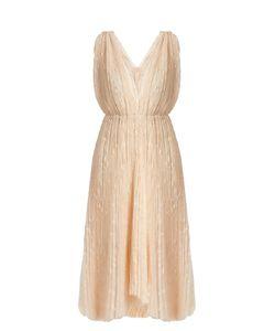 Maria Lucia Hohan | Eudora V-Neck Star-Embroidered Tulle Dress