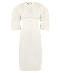 Stella Mccartney | Aleena Round-Shoulder Corset Dress