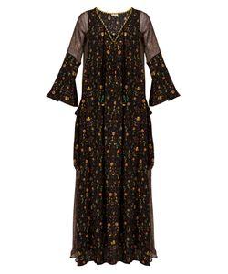 ANJUNA | Vera Printed Silk Kaftan