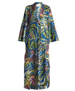 LA DOUBLEJ EDITIONS | The Kaftan Silk-Twill Dress