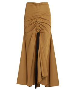 Ellery | Doll-Face Ruched-Front Maxi Skirt
