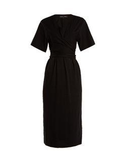 Proenza Schouler   Wrap-Style Jersey Dress