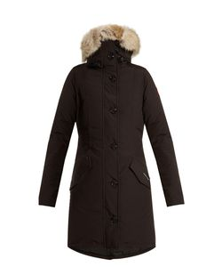 Canada Goose | Rossclair Fur-Trimmed Down Coat