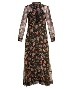 Red Valentino | -Print Silk-Chiffon Dress