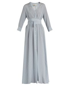 Vanessa Bruno | Gisele Tie-Waist Silk Crepe De Chine Dress