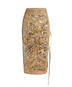 No. 21 | Sequin-Embellished Pencil Skirt
