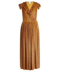 Ashish   Sequin-Embellished Silk-Georgette Wrap Dress