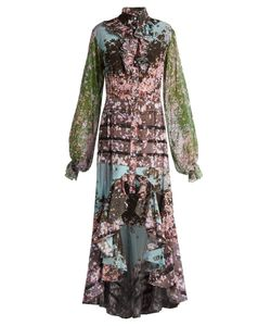 Natasha Zinko | Sakura-Print Silk Crepe De Chine Dress