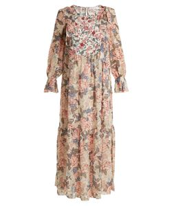See By Chloe | Georgias Garden-Print Silk-Chiffon Dress