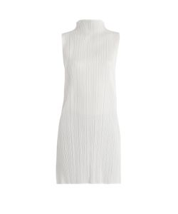 PLEATS PLEASE BY ISSEY MIYAKE | Pleated High-Neck Top