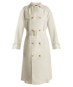 Joseph | Double-Breasted Silk Trench Coat