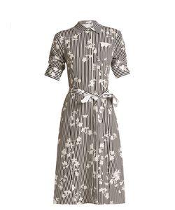 Altuzarra | Kieran Point-Collar Stripe-Print Dress