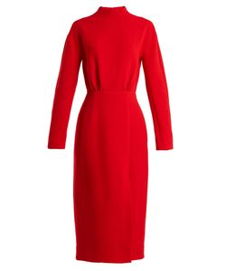 Emilia Wickstead | Milan Open-Back Wool-Crepe Dress