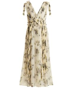 MSGM | -Print Silk-Chiffon Dress