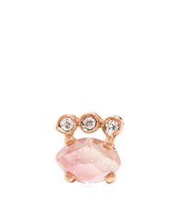JACQUIE AICHE | Diamond Tourmaline Rose Earring