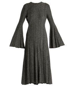 Ellery | Conrad Bell-Sleeved A-Line Dress