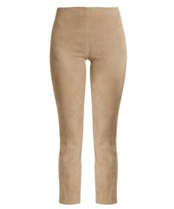 Vince | Cropped Suede Trousers