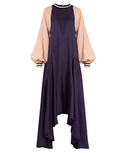 ROKSANDA | Vasara Bi-Colour Crepe De Chine Dress