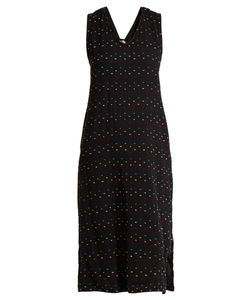 ACE & JIG | Hot Cross Sleeveless Fil Coupé Cotton Dress