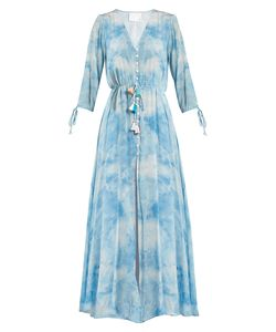 Athena Procopiou | In The Stars Silk Maxi Dress