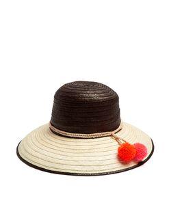 Sophie Anderson | Palomino 2 Pompom-Embellished Raffia Hat