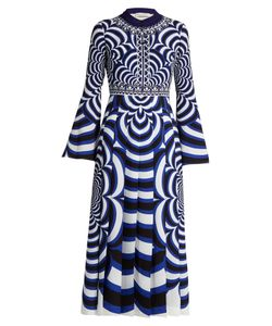 Mary Katrantzou | Desmine Optic-Print Midi Dress