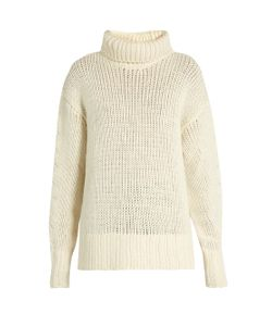 Y'S BY YOHJI YAMAMOTO | Roll-Neck Wool-Blend Knit Sweater