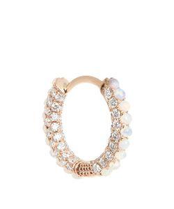 MARIA TASH | Diamond Opal Rose-Gold Earring