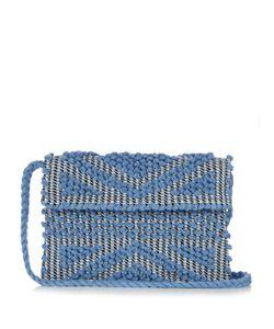 ANTONELLO TEDDE | Suni Woven-Cotton Cross-Body Bag