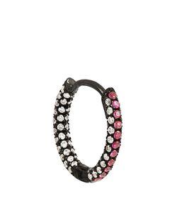 MARIA TASH | Diamond Ruby Black-Gold Earring
