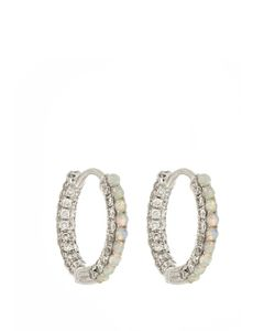 MARIA TASH | Diamond Opal White-Gold Earring