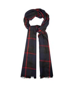 Begg & Co | Orkney Checked Cashmere Scarf