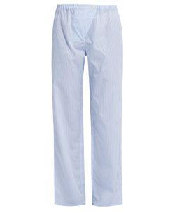 THREE GRACES LONDON | Gisele Striped-Cotton Pyjama Trousers