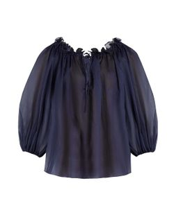 THREE GRACES LONDON | Almost A Honeymoon Cotton Pyjama Top