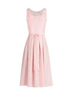 HVN | Jordan Gingham Sleeveless Dress