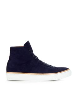 NO. 288 | Mulberry High-Top Nubuck-Leather Trainers
