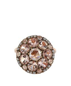 SELIM MOUZANNAR | Diamond Morganite Pink-Gold Beirut Ring