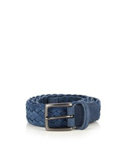 ANDERSON'S | Woven Suede Belt