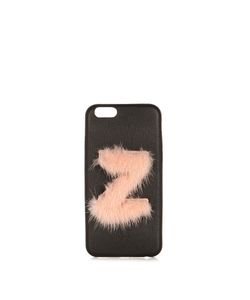 Fendi | Z Mink-Fur And Leather Iphonereg 6 Case