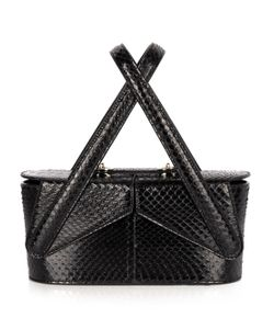 F.E.V. | Beauty Case Snakeskin Clutch
