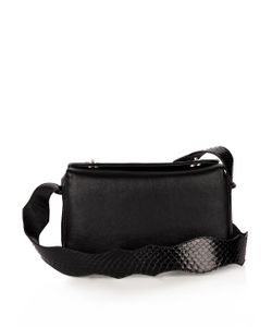 F.E.V. | Time Square Leather Cross-Body Bag