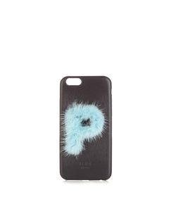 Fendi | P Mink-Fur And Leather Iphonereg 6 Case