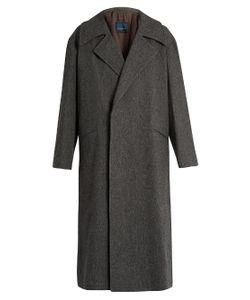 YOHJI YAMAMOTO REGULATION | Loose-Fit Wool-Flannel Coat