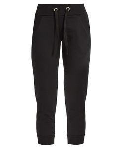 PEPPER & MAYNE | Signature Cropped Cotton-Jersey Sweatpants