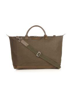 Want Les Essentiels De La Vie   Hartsfield Leather-Trimmed Canvas Weekend Bag