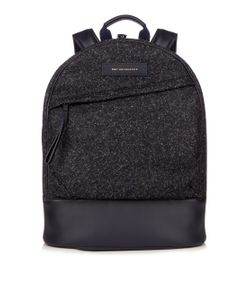 Want Les Essentiels De La Vie   Kastrup Flecked-Tweed Backpack