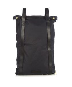 MALLE | Charlie Waxed Cotton-Canvas Backpack